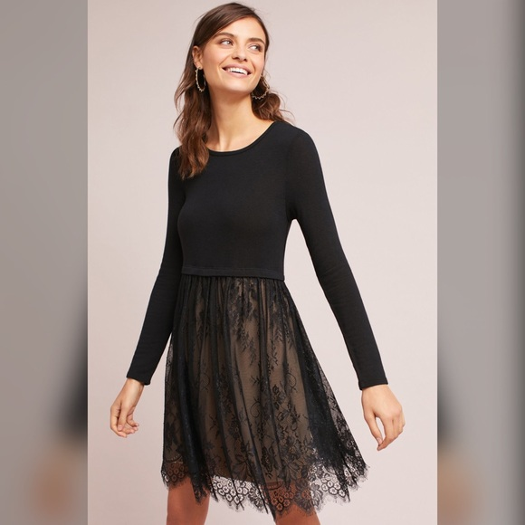 Anthropologie Dresses & Skirts - Anthropologie Dress Bailey 44 Layered Lacework